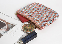 [LH218] DOUBLE COLOR POUCH 더블 컬러 파우치